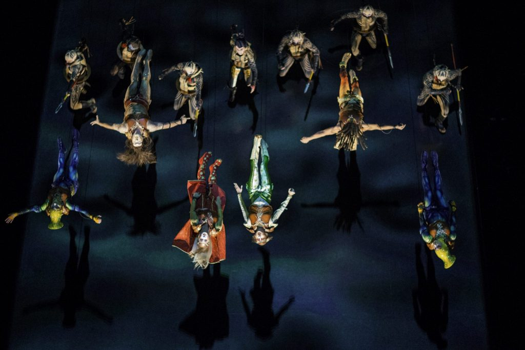 KÀ Cirque de Soleil Battle scene Las Vegas