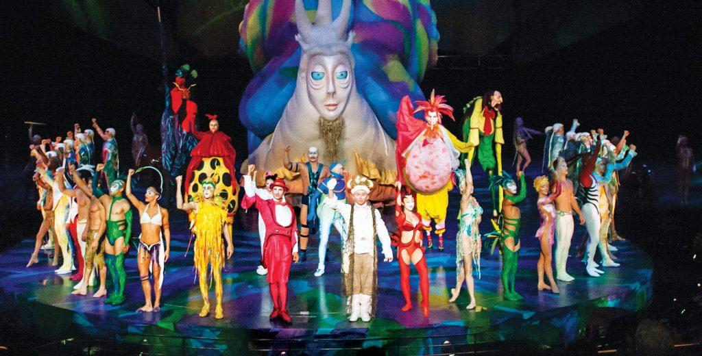 Cirque de Soleil Mystère Las Vegas
