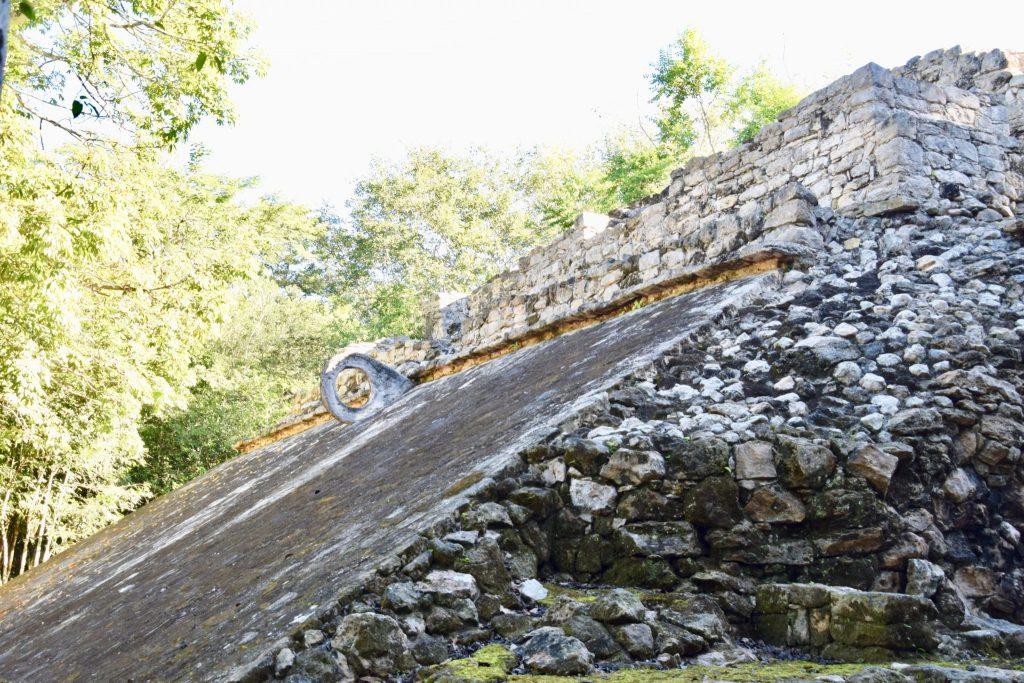 Coba Mayan ruins ball court