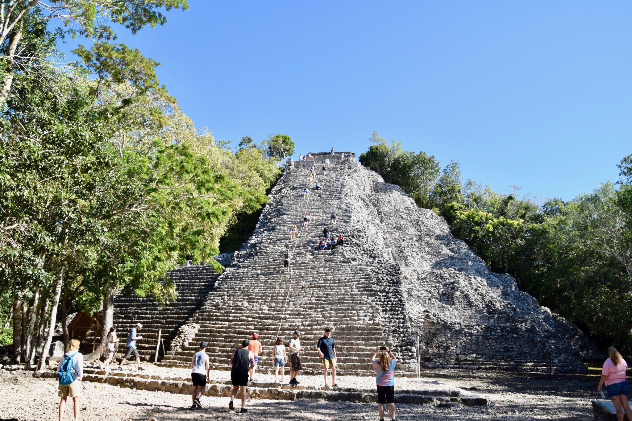 Nohoch Mol Pyramid at Coba