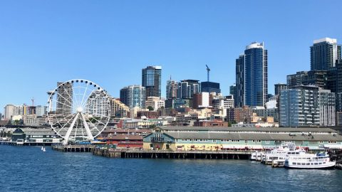 downtown Seattle waterfront