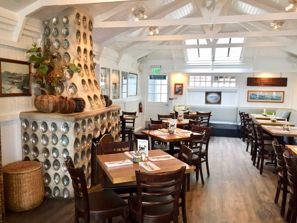 Brockton Villa restaurant interior
