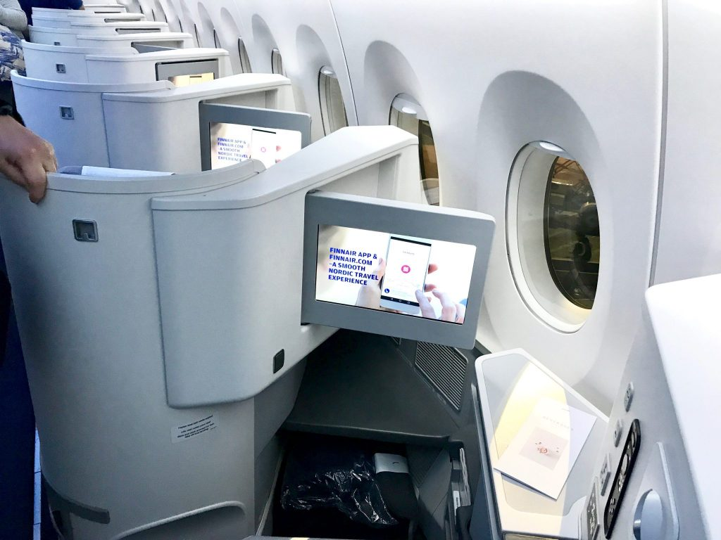 Finnair Business Class seating Airbus A350