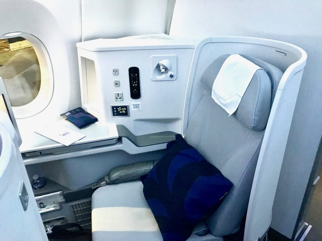 Business Class seat Finnair A350