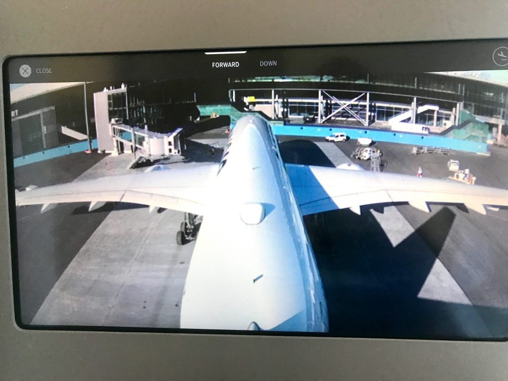 Finnair live tail camera