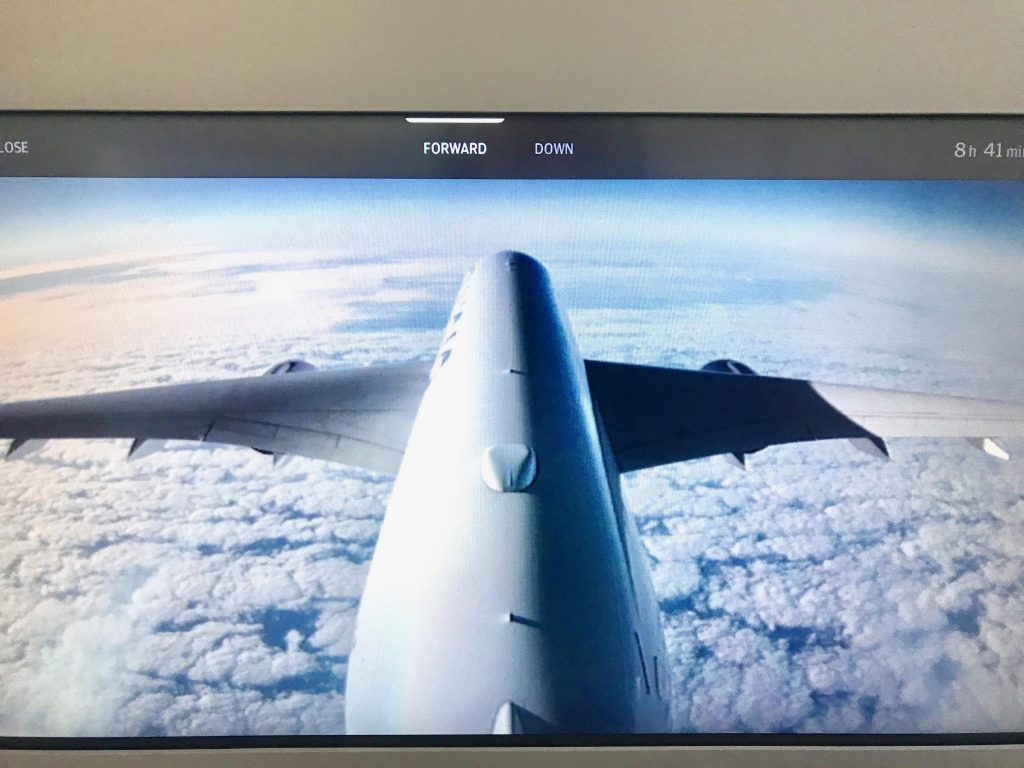 Finnair tail camera