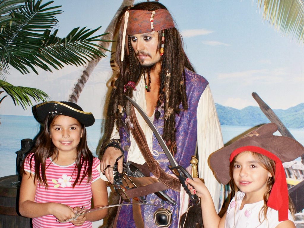 Captain Jack Sparrow Madame Tussaud's Wax Museum Las Vegas