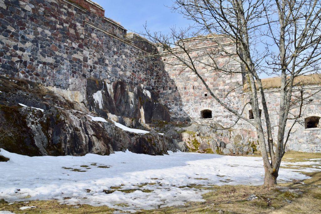 Suomenlinna Helsinki Finland winter