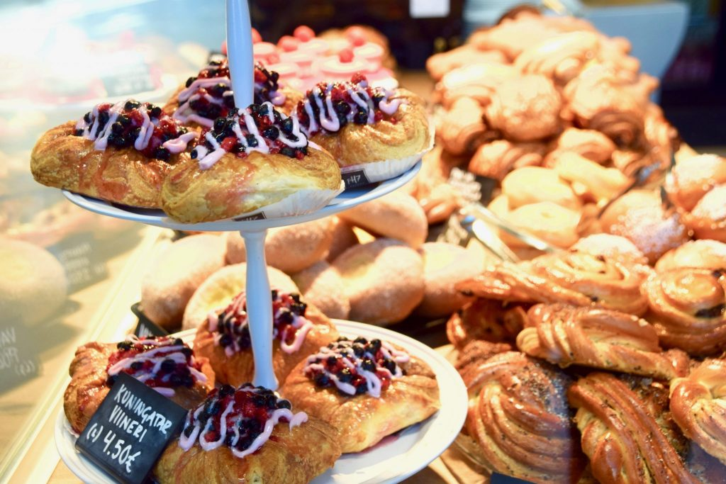 Helsinki Finland pastry shop
