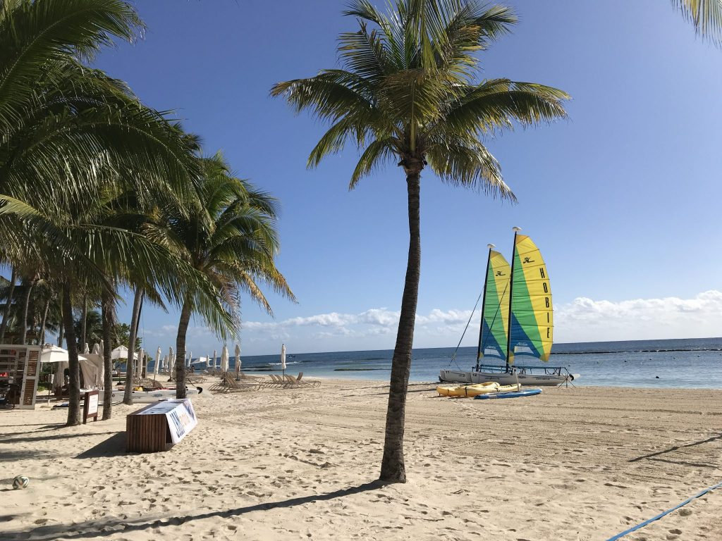 Beach activities Grand Velas