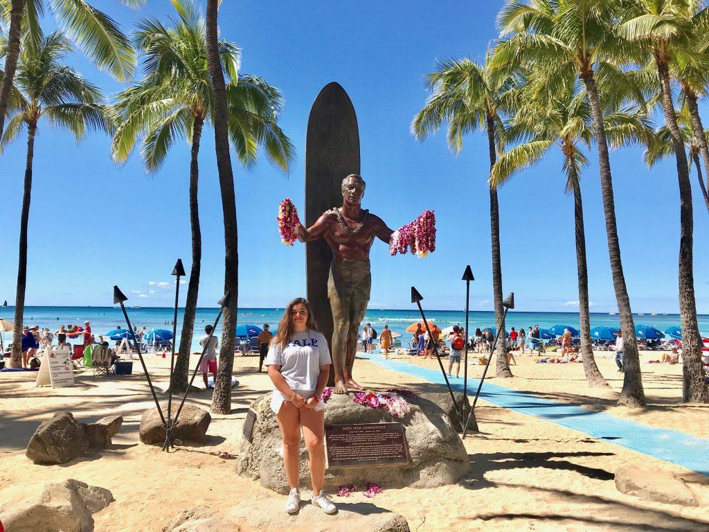 Duke statue Waikiki Beach