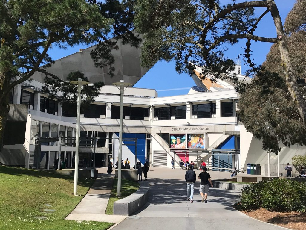 Caesar Chavez Student Center at San Francisco State University