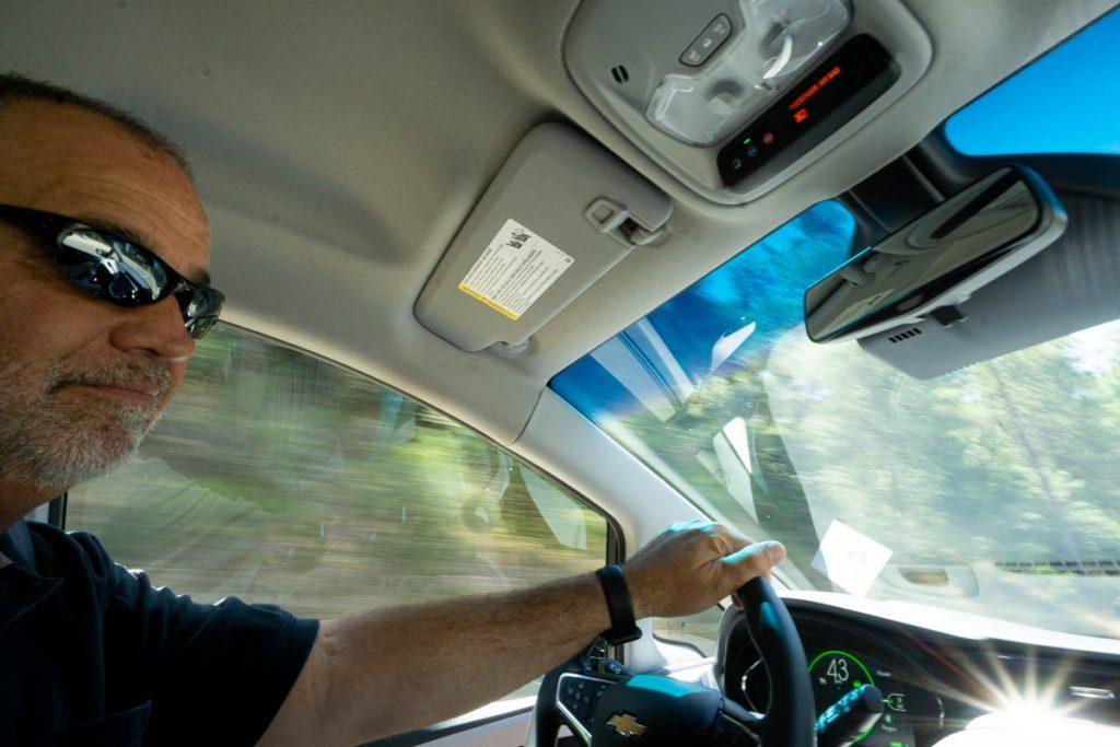 Test Driving a 2019 Chevy Bolt EV