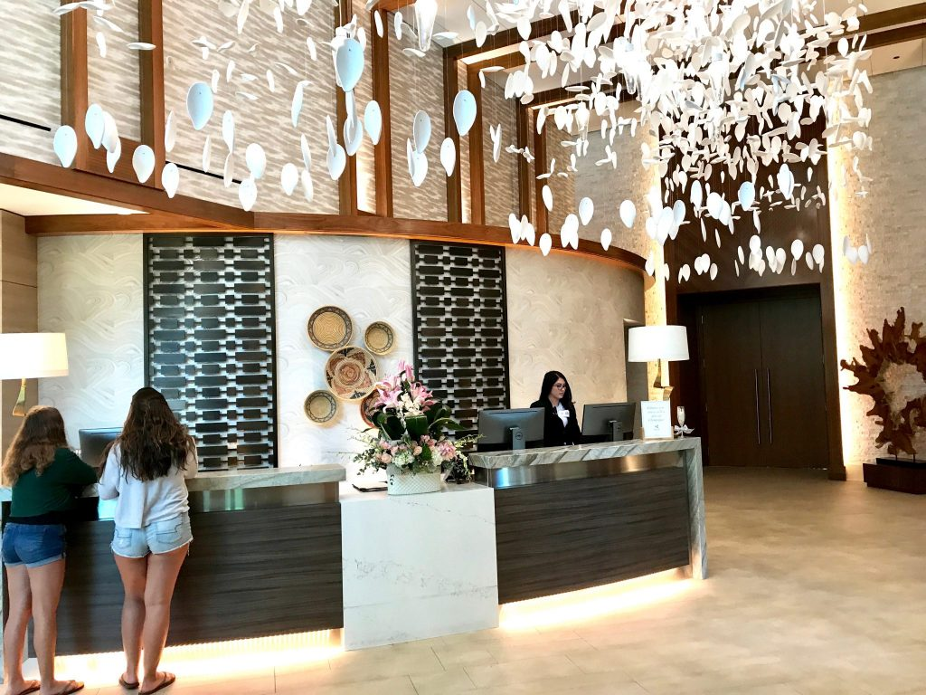 Spa Pechanga front desk