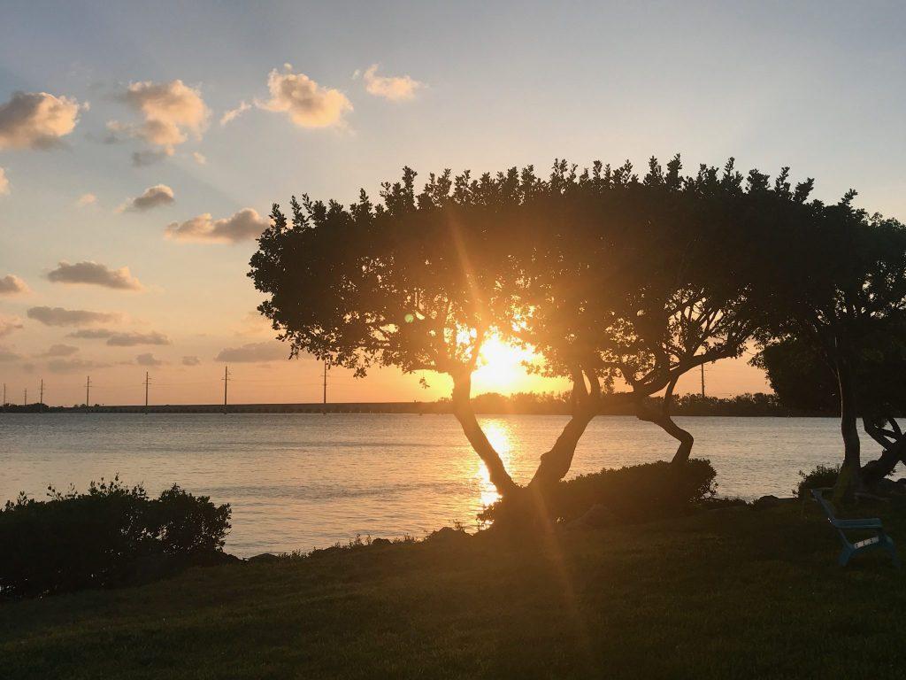 Sunset at Hawks Cay Resort Florida Keys
