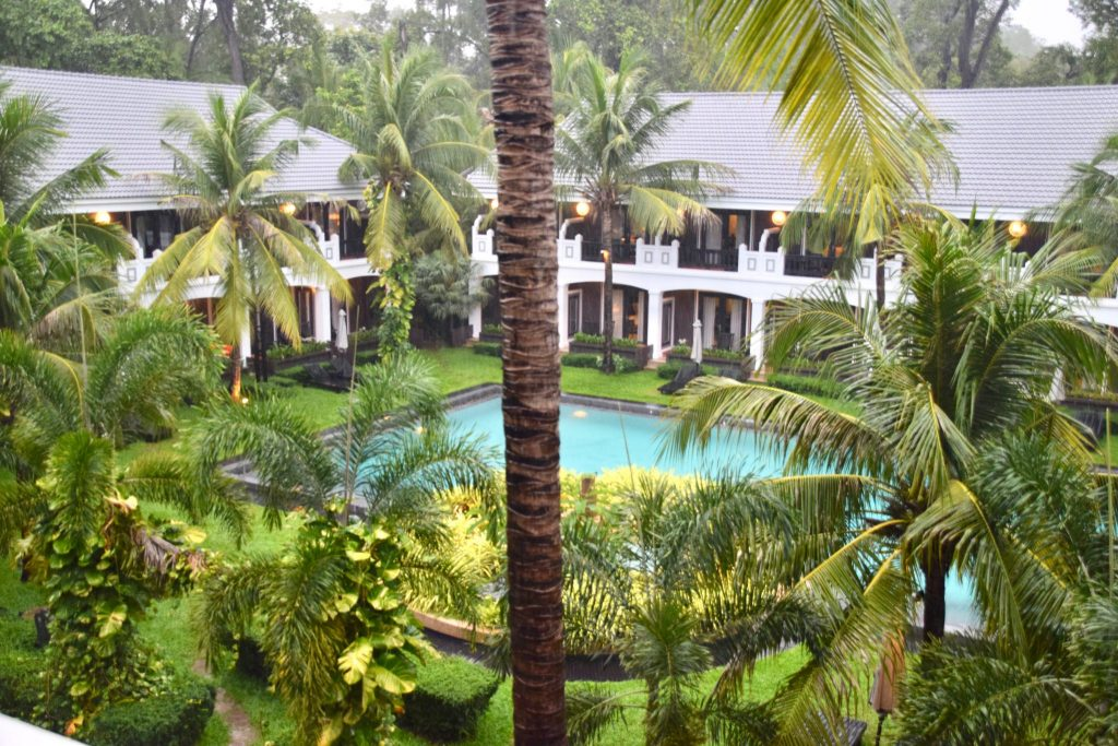 View and grounds inside the Shinta Mani Resort in Siem Reap, Cambodia