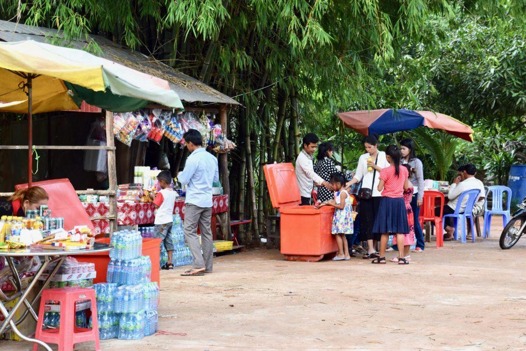 street vendors in Siem Reap, Cambodia
