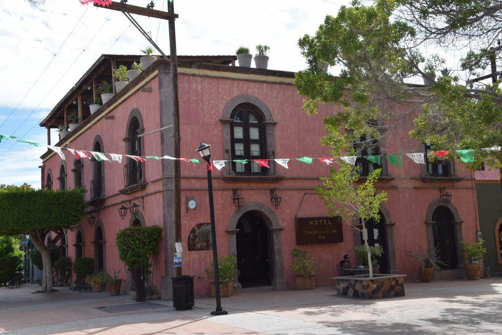Posada de Las Flores Hotel in Loreto, Mexico