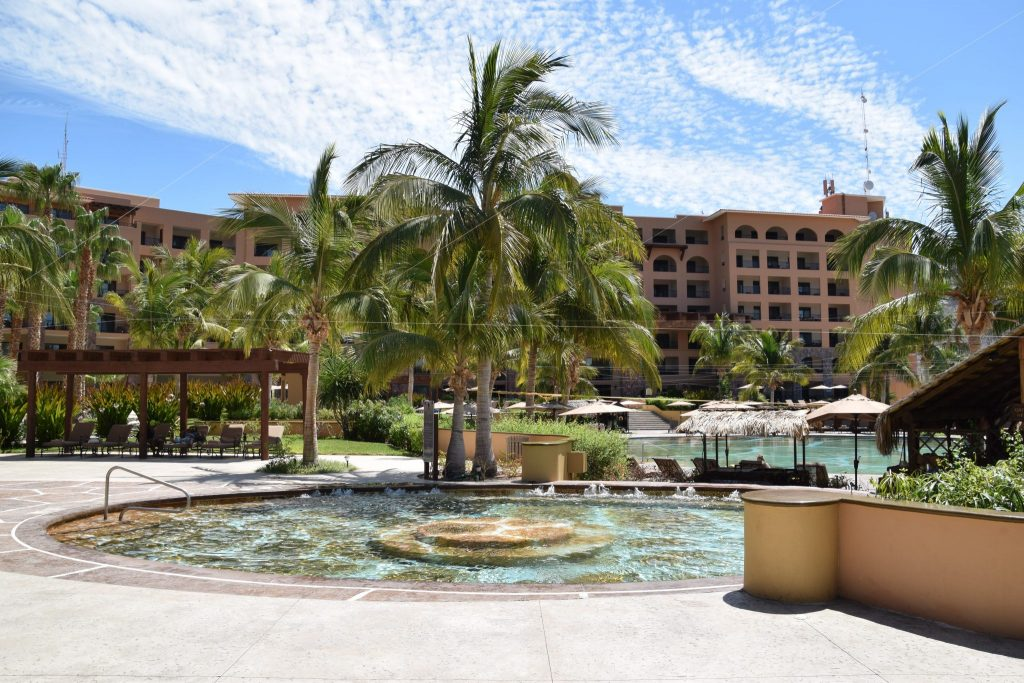 swimming pools at Villa Del Palmar Resort & Spa in Loreto Bay, Baja California Sur, Mexico