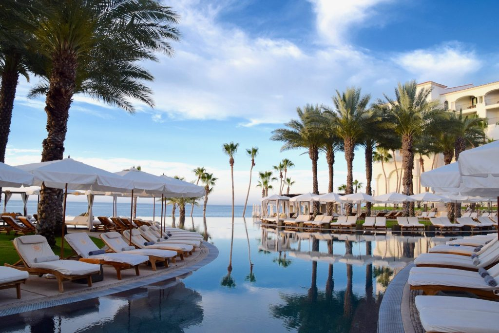 pool at Hilton Los Cabos Beach & Golf Resort