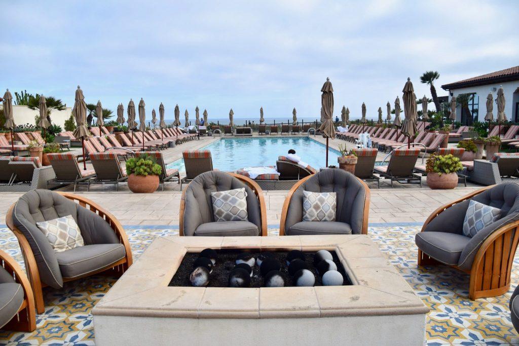 The Spa Pool at Terranea Resort & Spa in Rancho Palos Verdes