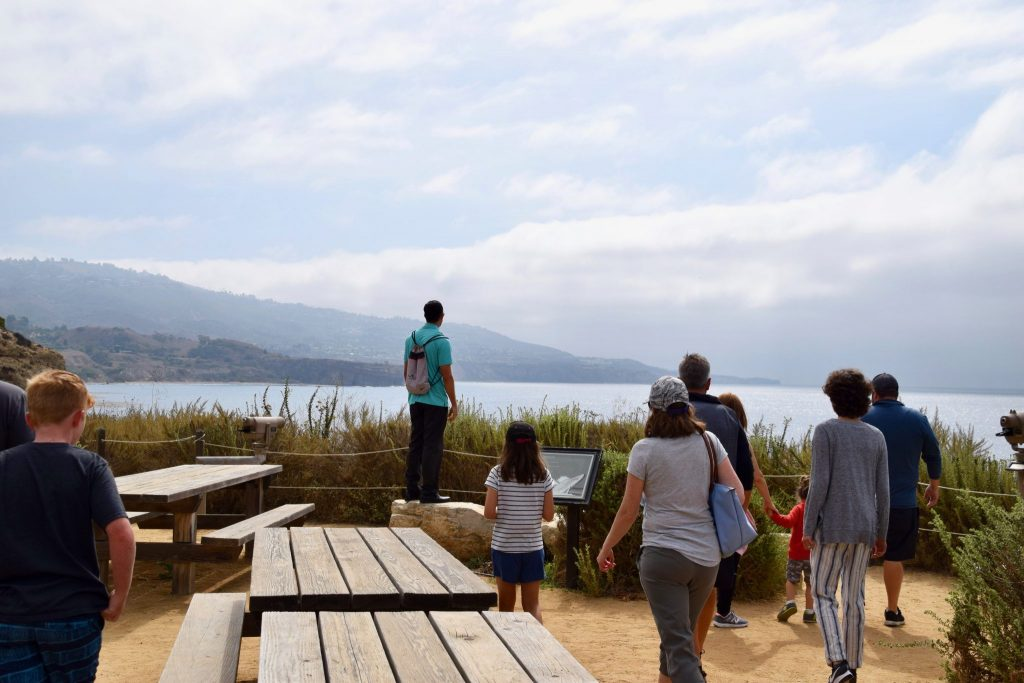 people on nature walk at Terranea Resort & Spa