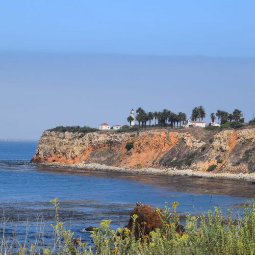 cliff view of Rancho Palos Verdes
