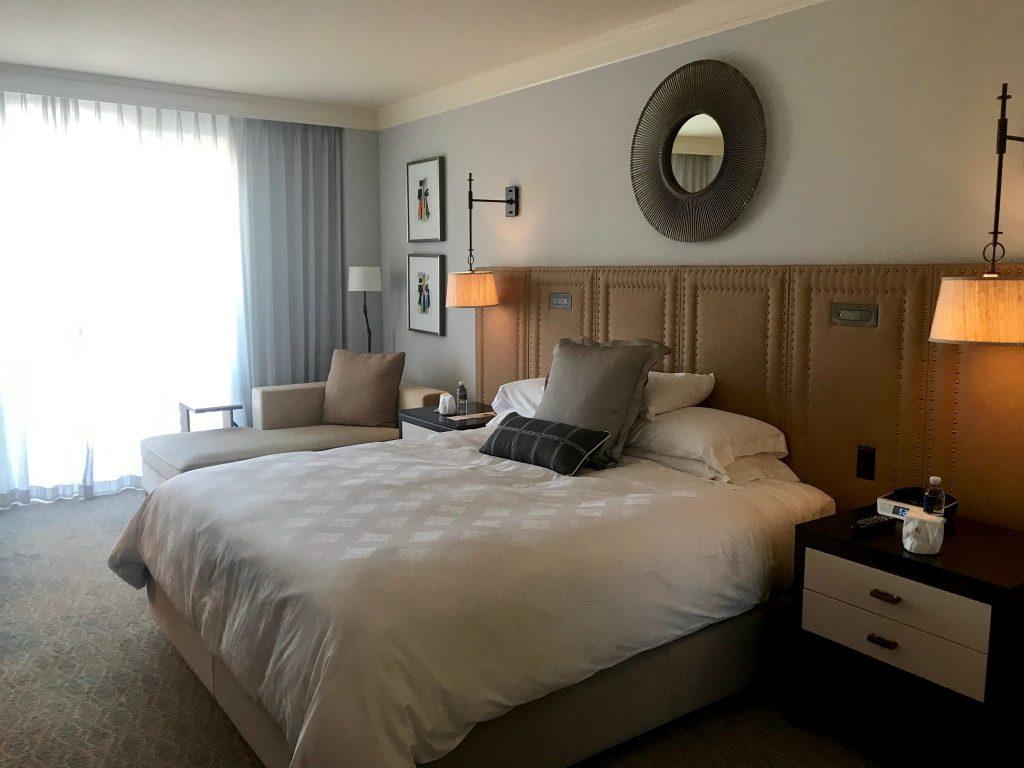 King bedroom at Terranea Resort & Spa, Rancho Palos Verdes