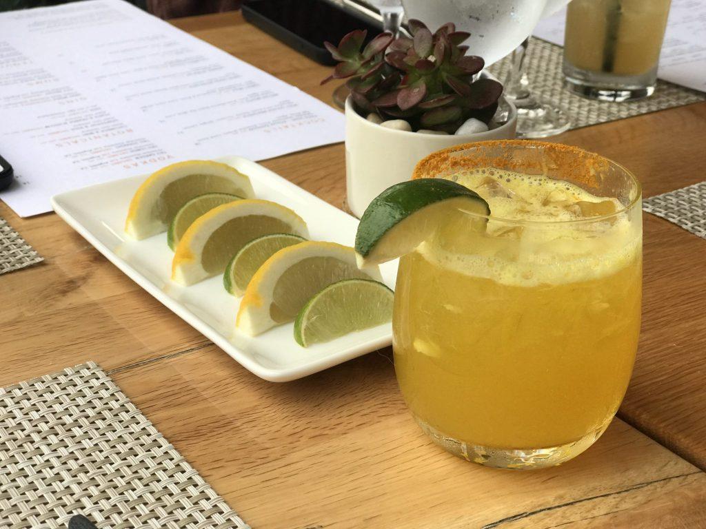 Pisco Sour at Solviva Restaurant, Terranea Resort & Spa