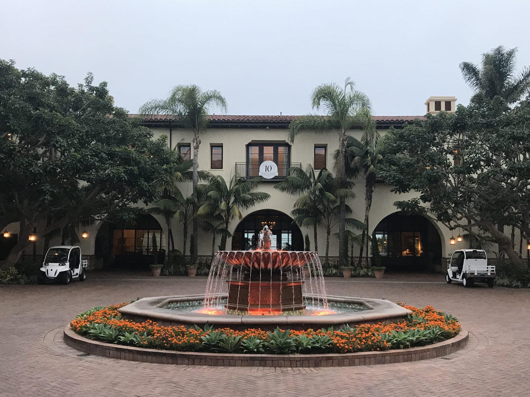 front entrance of Terranea Resort & Spa