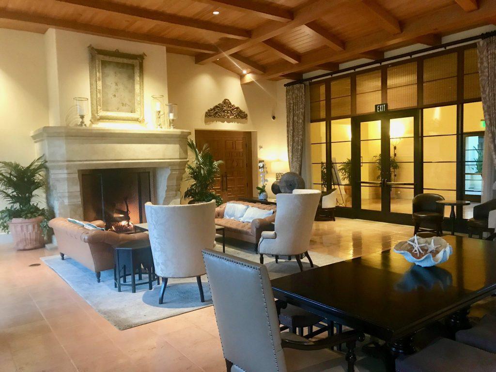 lobby at Terranea Resort & Spa
