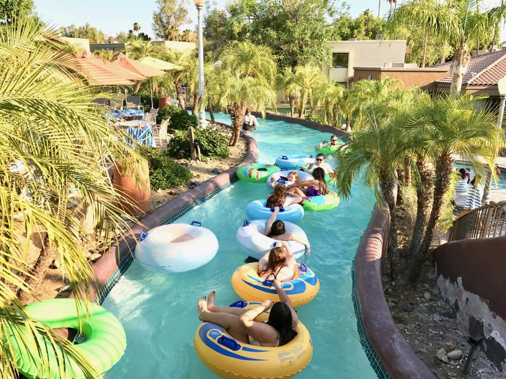 lazy river at Pointe Hilton Squaw Peak Resort in Phoenix, Arizona