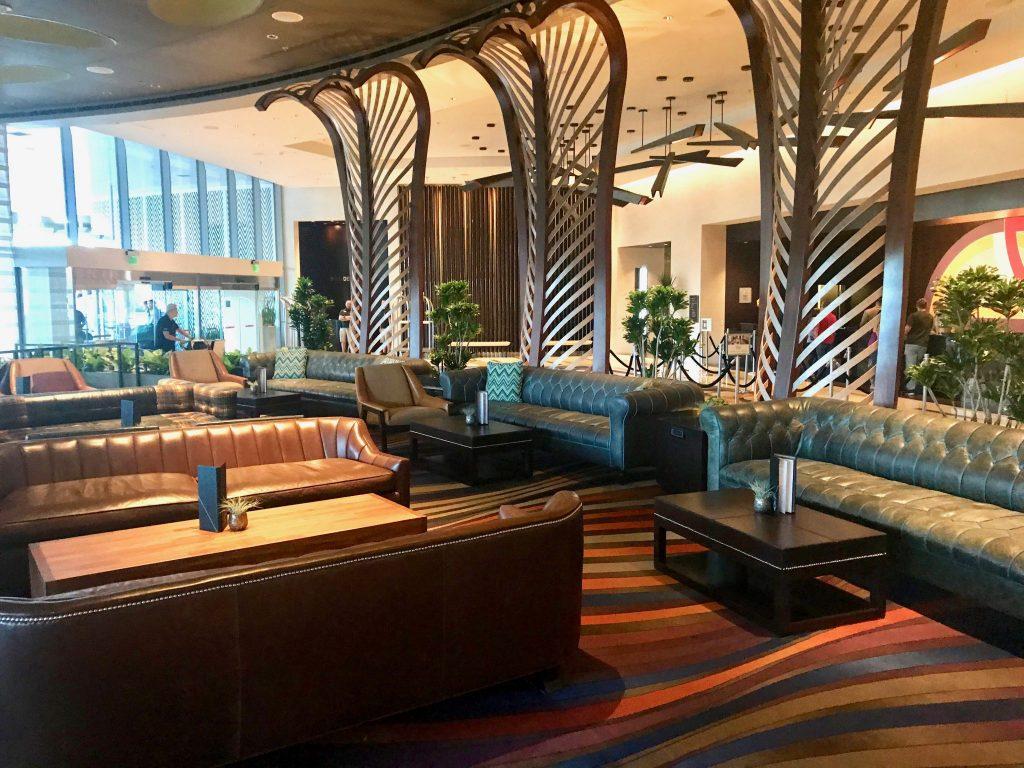 Vice Versa lobby bar and lounge at Vdara Hotel Las Vegas
