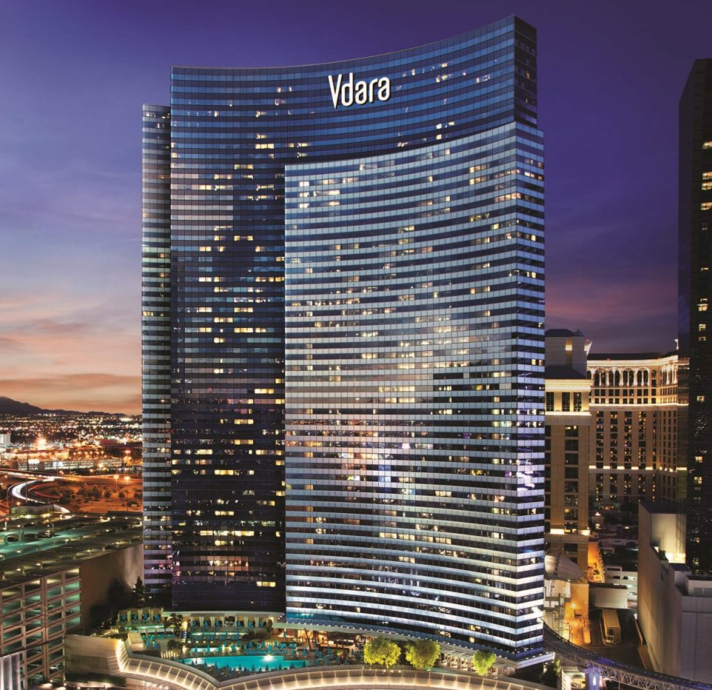 Exterior of Vdara Hotel Las Vegas
