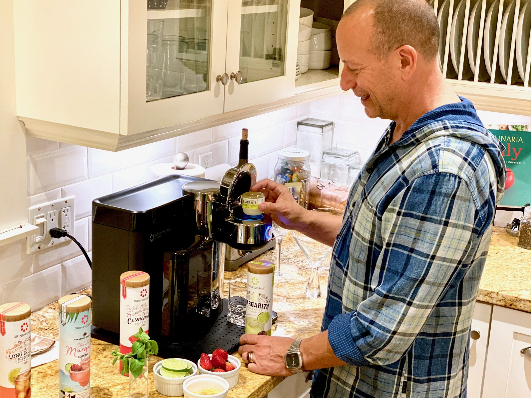 Easy Cocktail Parties with Drinkworks ® Home Bar by Keurig®
