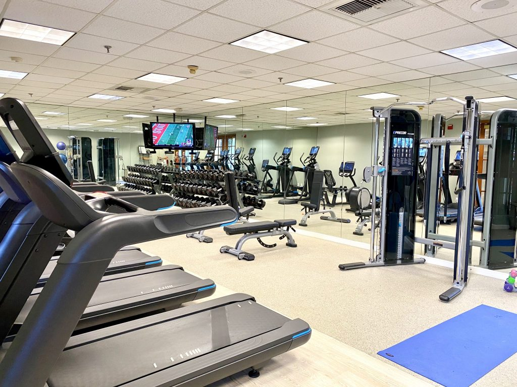 fitness center at Miramonte Resort & Spa in Indian Wells, CA