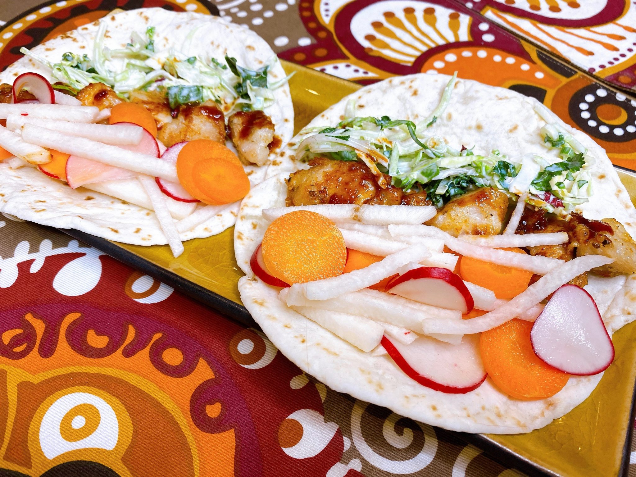 Crispy Asian Chicken Taco recipes