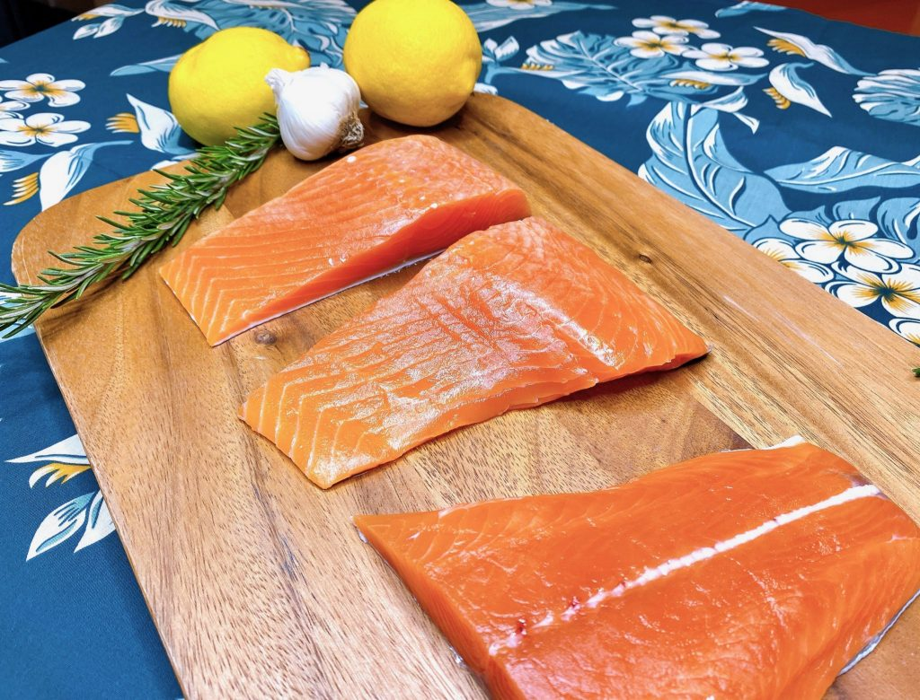Alaska Salmon from Sitka Salmon Shares