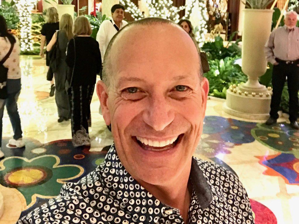 selfie at Wynn Hotel Las Vegas