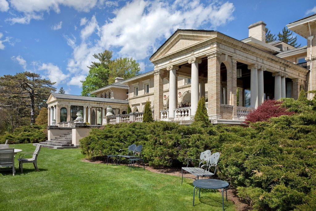 Stately villa at Wheatleigh Resort in Lenox, MA
