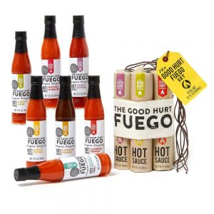 hot sauce gift set from The Good Hurt