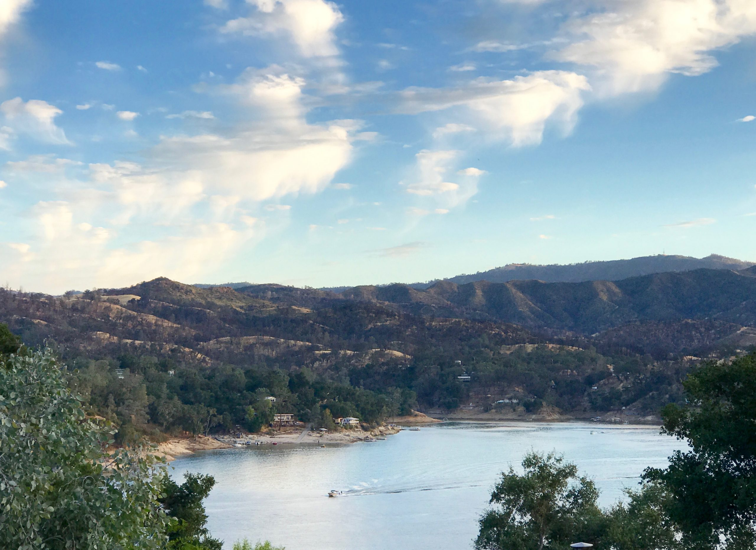 View of Lake Nacimiento near Paso Robles, CA