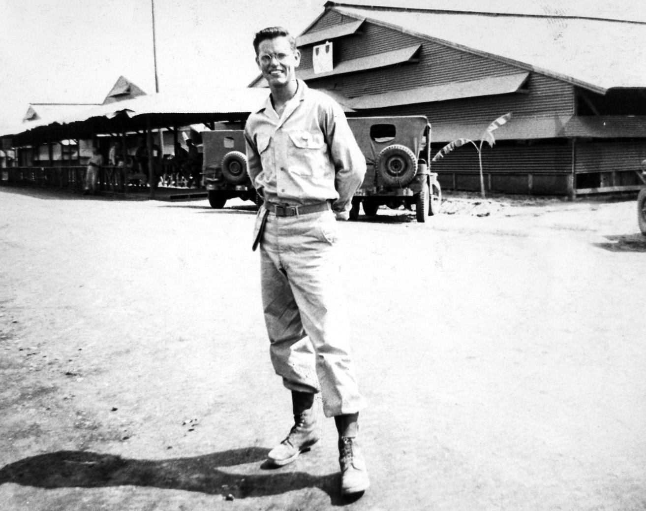 Man in the Philippines during World War II