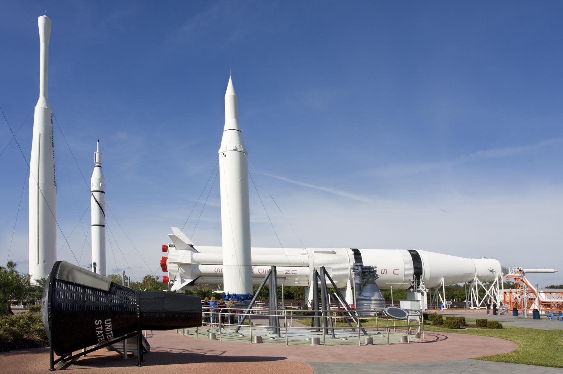 Rocket Garden, Kennedy Space Center