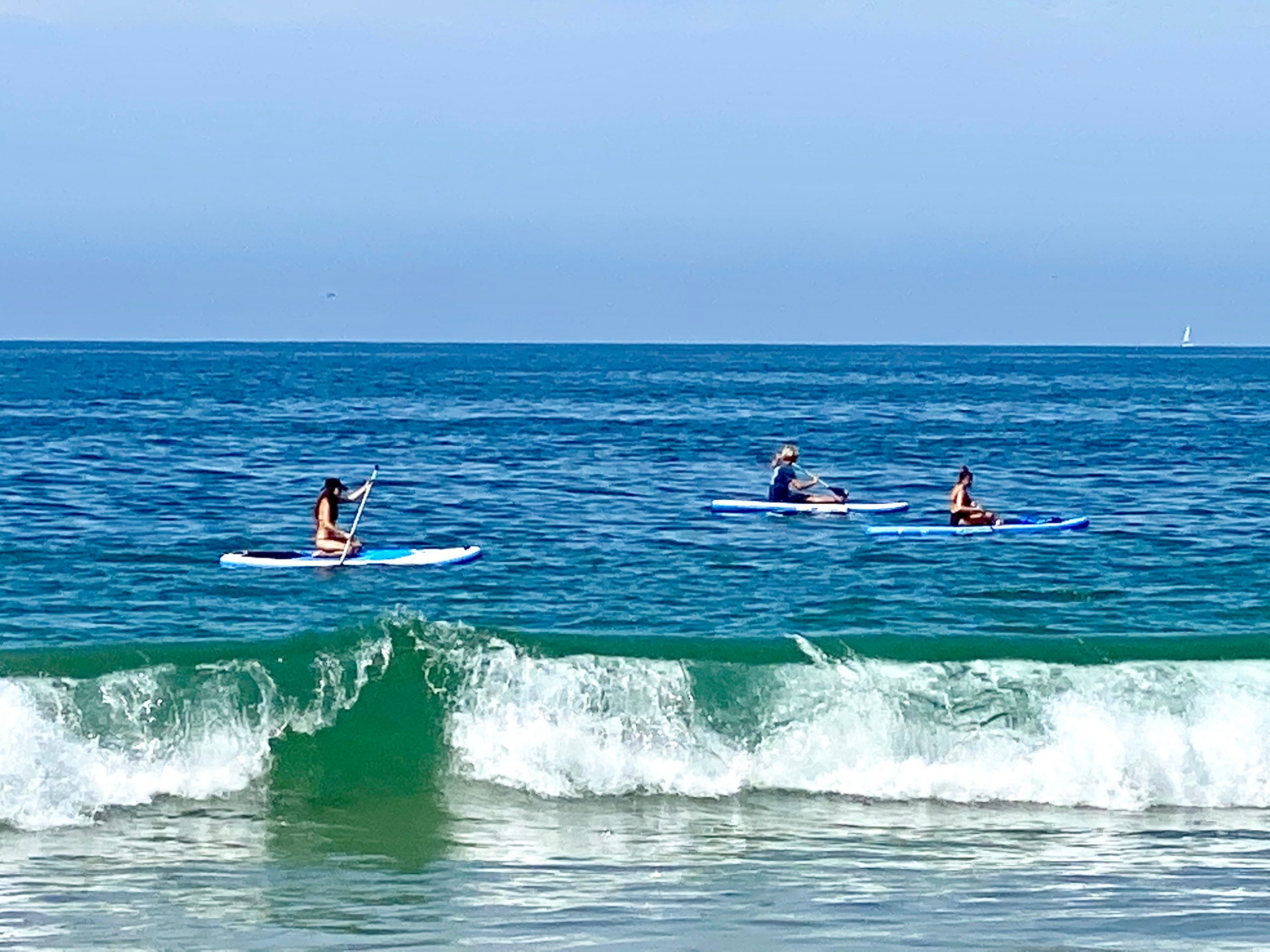 Stand up paddleboard lessons at the Monarch Beach Resort in Dana Point, CA