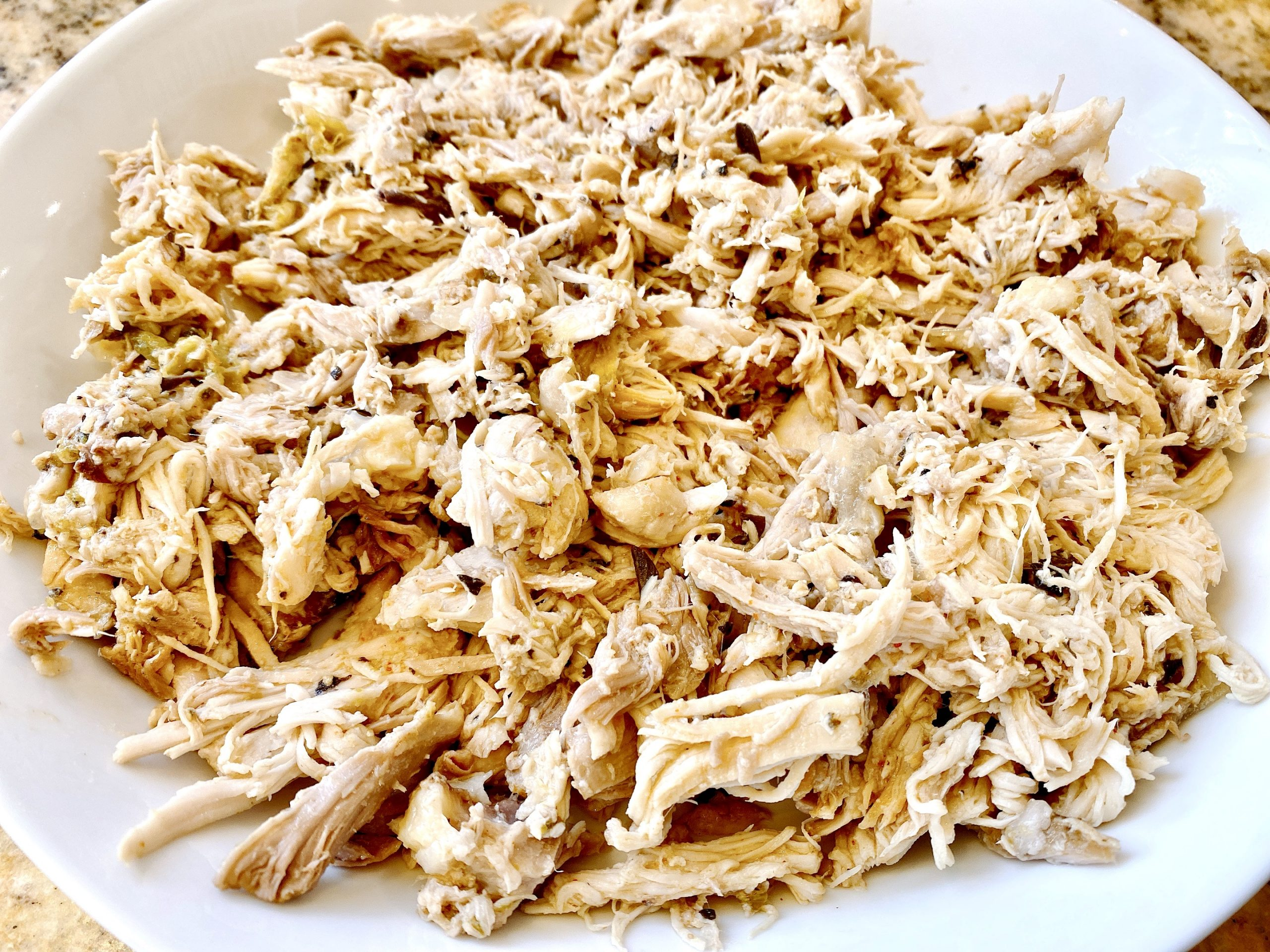 Shredded chicken thighs by Perdue Farms