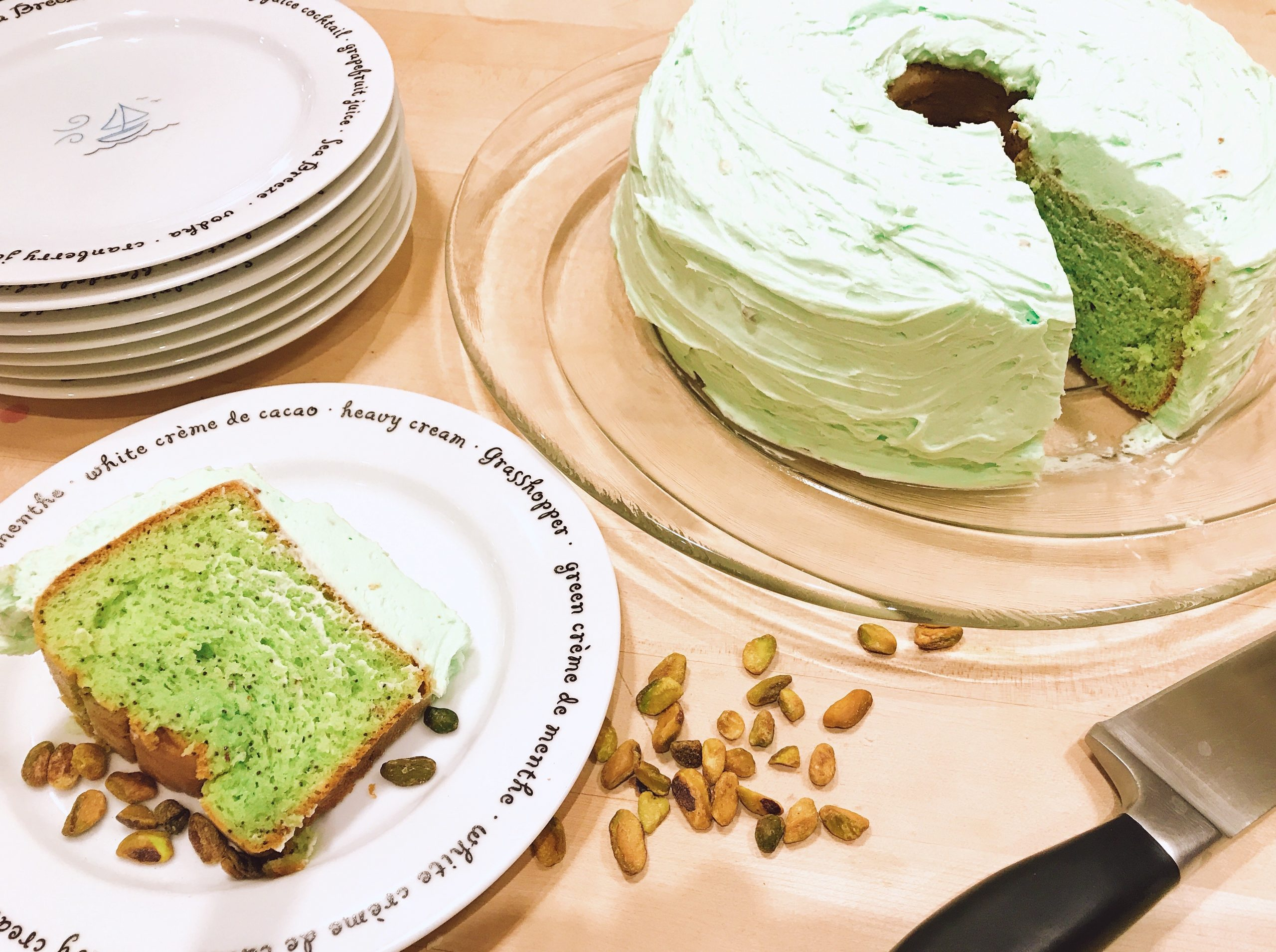 Pistachio Pudding Cake Recipe for St. Patrick's Day