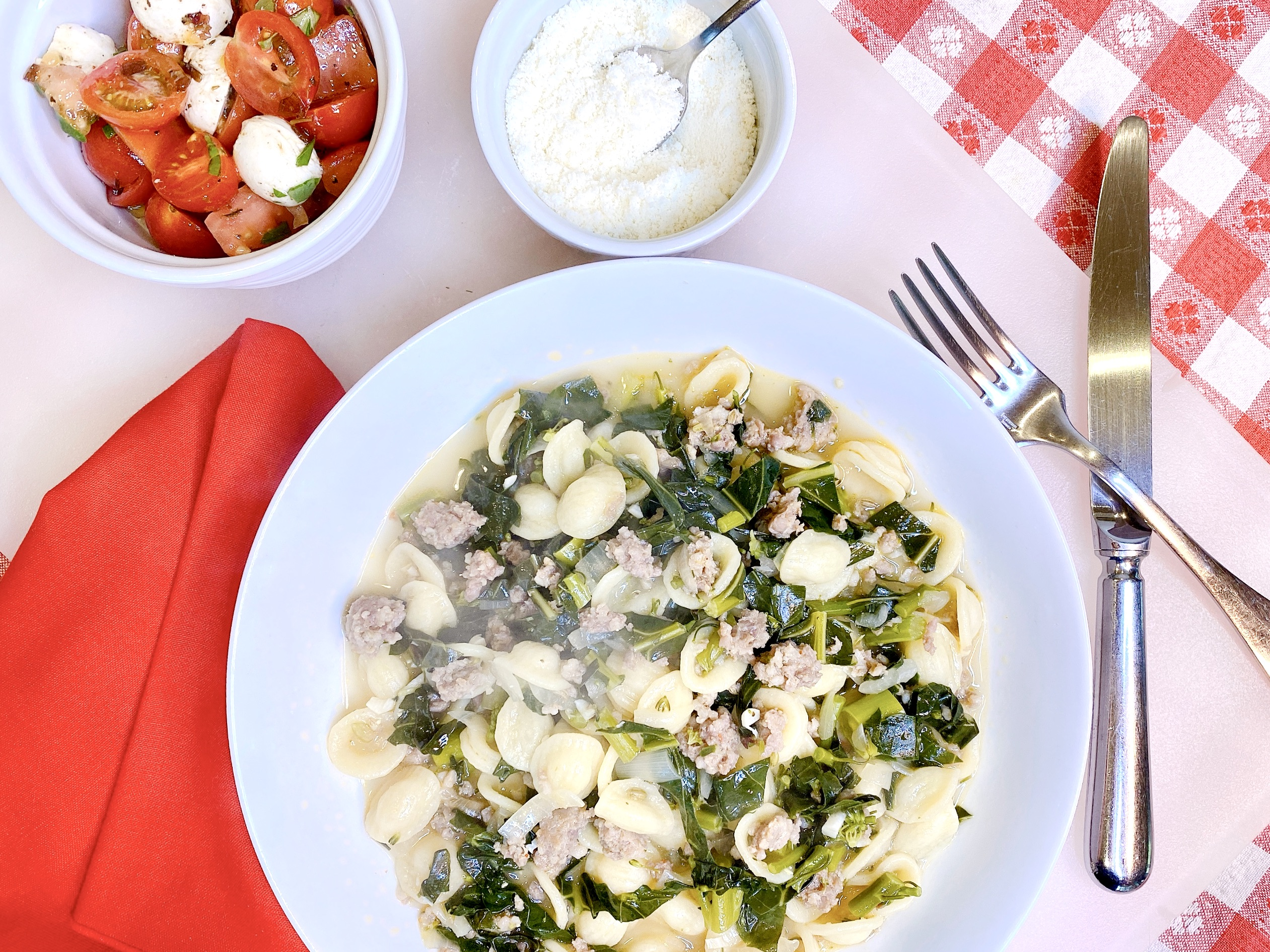Easy Recipe for Pasta with Italian Sausage and Broccoli Rabe